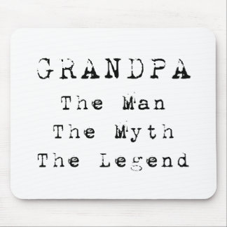 Grandpa Man Myth Legend 03 Mouse Pad