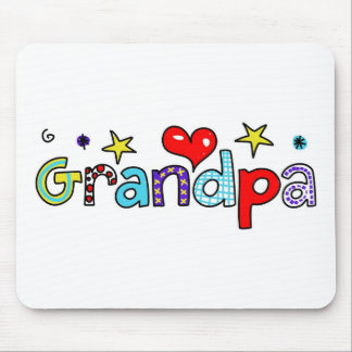 Grandpa Mouse Pad