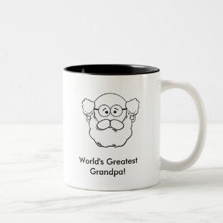 Grandpa Mug2(Personalize) Two-Tone Coffee Mug