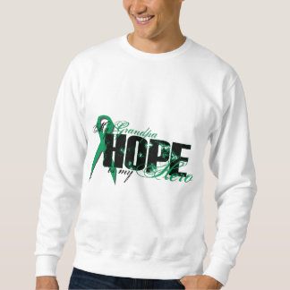 Grandpa My Hero - Kidney Cancer Hope Sweatshirt