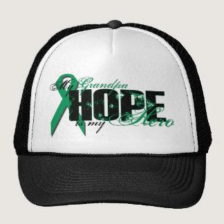 Grandpa My Hero - Kidney Cancer Hope Trucker Hat