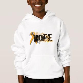 Grandpa My Hero - Leukemia Hope Hoodie