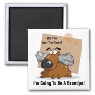 Grandpa News (Customizable) Refrigerator Magnets