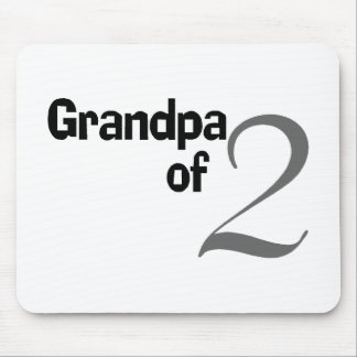 Grandpa Of 2 Mouse Pad