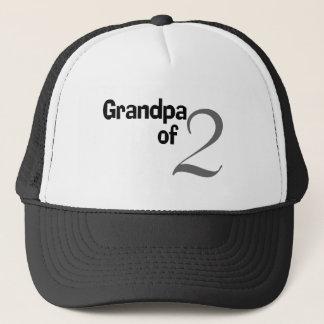 Grandpa Of 2 Trucker Hat