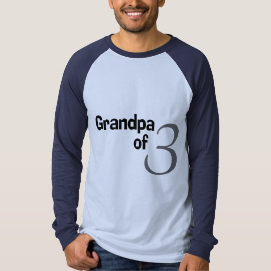 Grandpa Of 3 T-Shirt