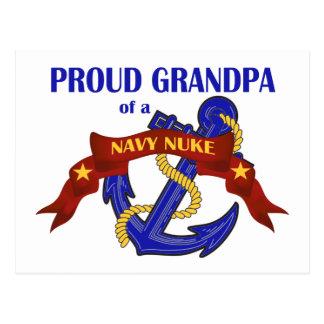 Grandpa of a Navy Nuke Postcard