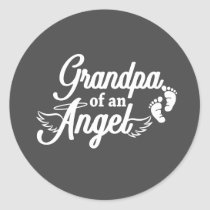 Grandpa of an Angel Sticker