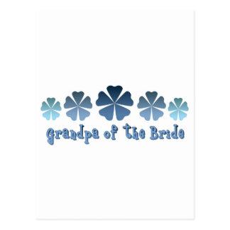 Grandpa of the Bride Post Card