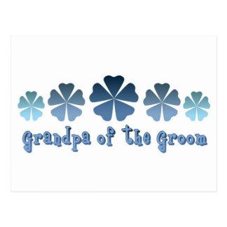 Grandpa of the Groom Postcard