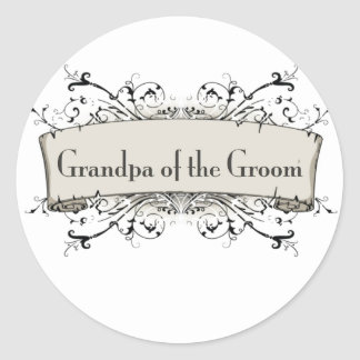 Grandpa Of the Groom Stickers