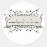 *Grandpa Of the Groom Stickers
