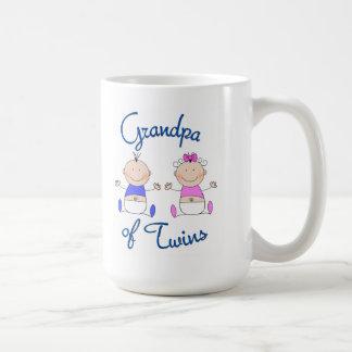 Grandpa of Twins Coffee Mug