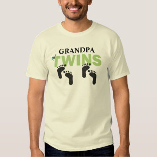 [GRANDPA] of Twins CUSTOMIZE THIS T-SHIRT! T Shirts