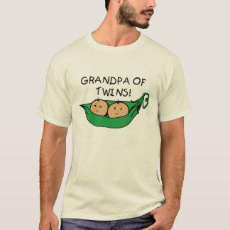 Grandpa of Twins Pod T-Shirt
