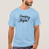 Grandpa of Two Angels T-Shirt