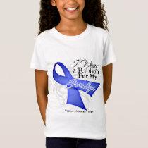 Grandpa Periwinkle Ribbon - Stomach Cancer T-Shirt
