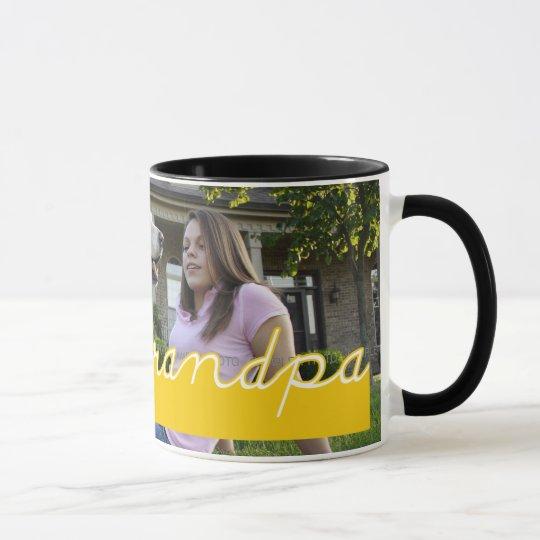 Grandpa Photo Mug Customized Father's Day Mugs