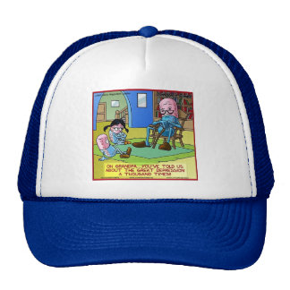Grandpa Prozac Funny Gifts, Tees, Mugs, Cards Etc Trucker Hat