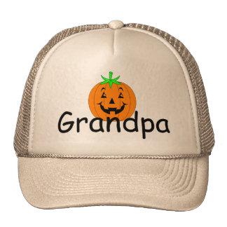 Grandpa Pumpkin Trucker Hat
