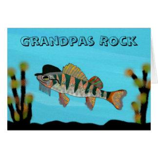 Grandpa Rocks Card