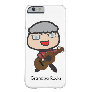 Grandpa Rocks Customizable Barely There iPhone 6 Case