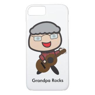 Grandpa Rocks Customizable iPhone 8/7 Case