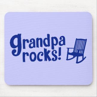 Grandpa Rocks Mouse Pad