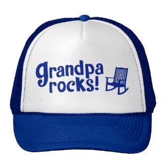 Grandpa Rocks Trucker Hat