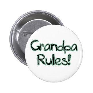 Grandpa Rules! Pinback Button