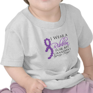 Grandpa s Inspiring Courage - Pancreatic Cancer T-shirt