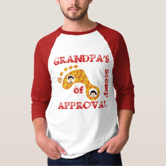 Grandpa's Stomp of Approval T-Shirt