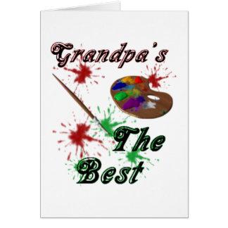 Grandpa's The Best Card