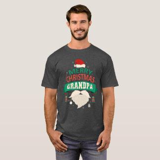 Grandpa Santa Merry Christmas Family Matching T-Shirt