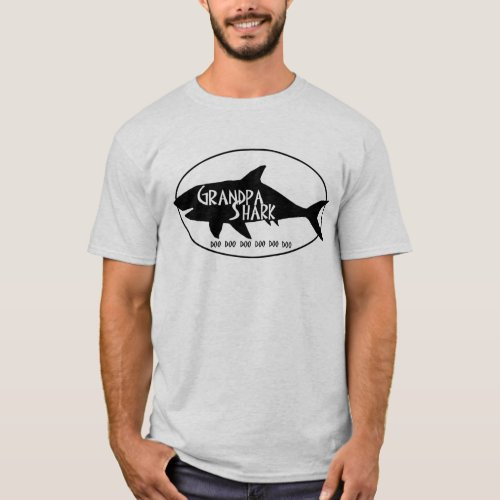 Grandpa Shark T_Shirt