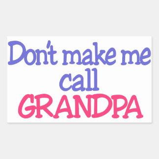 Grandpa Rectangular Sticker