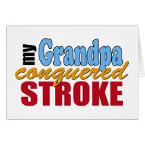 Grandpa Stroke Survivor Card
