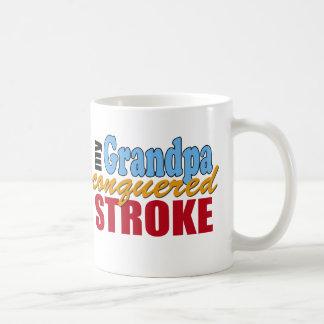 Grandpa Stroke Survivor Classic White Coffee Mug