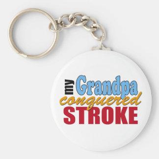 Grandpa Stroke Survivor Key Chain