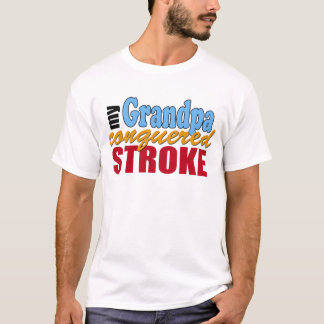 Grandpa Stroke Survivor T-Shirt