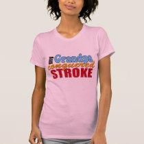 Grandpa Stroke Survivor T-Shirt