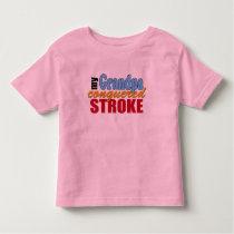 Grandpa Stroke Survivor Toddler T-shirt