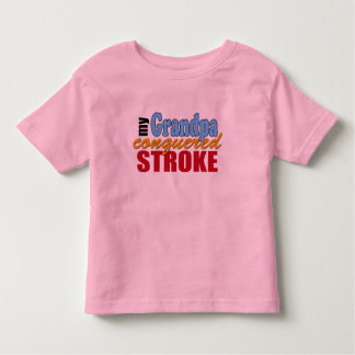 Grandpa Stroke Survivor Toddler T-shirt