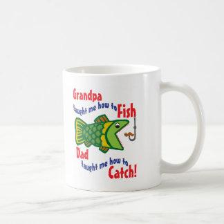 Grandpa Taught me How to Fish Coffee Mug