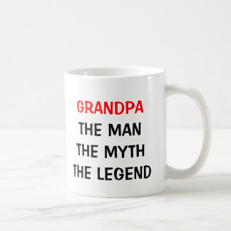 Grandpa the man myth legend mug