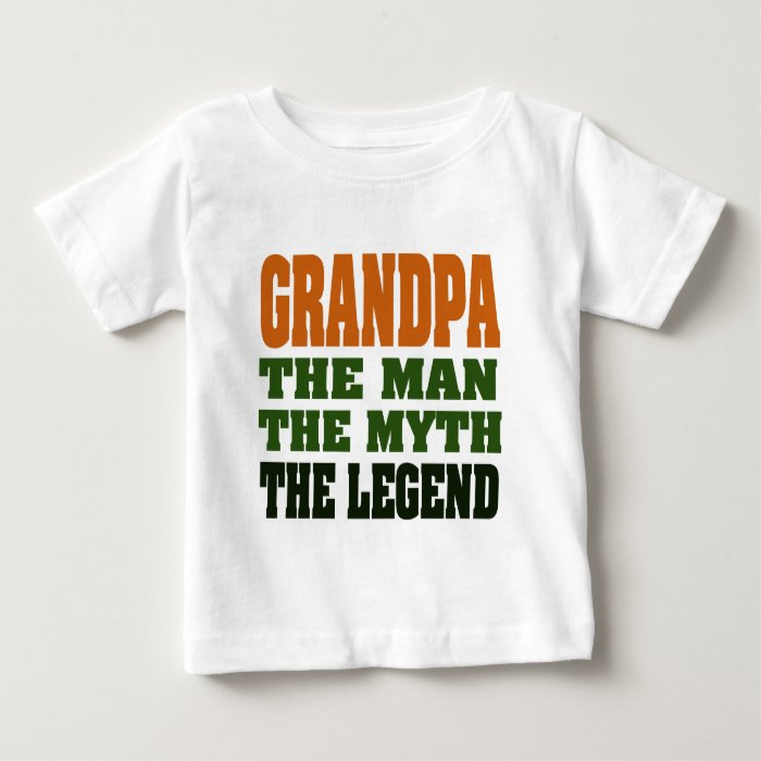 Grandpa - the Man, the Myth, the Legend! Baby T-Shirt