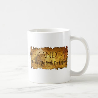 GRANDPA The Man The Myth the legend Coffee Mugs