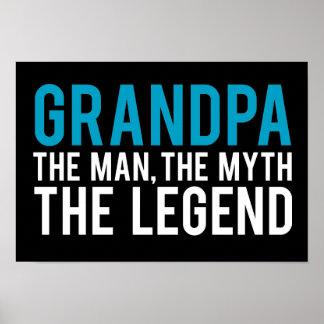 Grandpa, the Man, the Myth, the Legend Poster