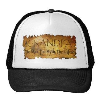 GRANDPA The Man The Myth the legend Trucker Hat