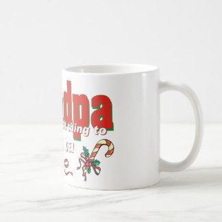 Grandpa, The Next Best Thing To Santa Coffee Mug